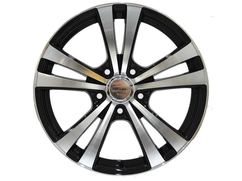 Diamond Cut Alloy Wheels