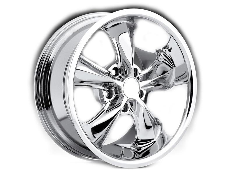 Polished Chrome Alloy Wheels