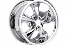Polished Chrome Alloy Wheels